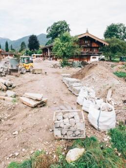 Klee_Landschaftsbau_Erdarbeiten_Baustellenbeginn